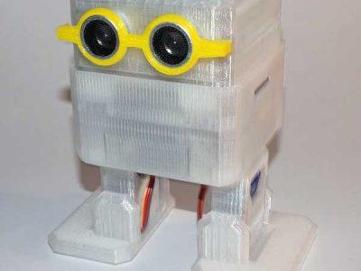 Papa Robot Otto gafas