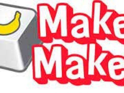 Makey makey Papa Robot